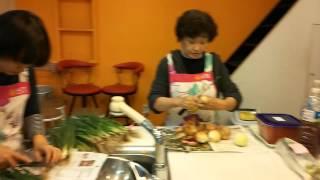 성동점 요리쿡 조리쿡 두레생협 요리대회 참가영상