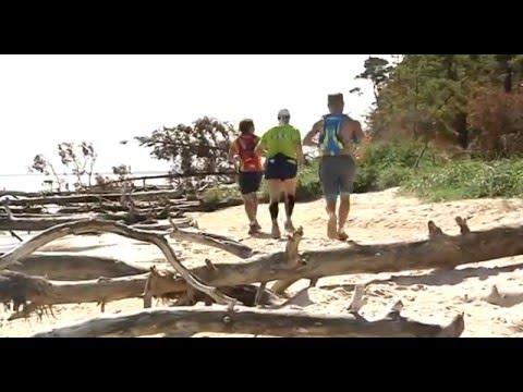 3rd Baltic barefoot ultramarathon (2015 Mazirbe -