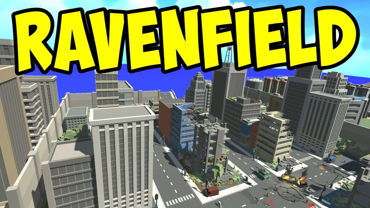 Ravenfield New City Map Urban Combat Let S Play Ravenfield Gameplay Youtube