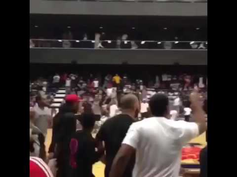 Stanley Johnson Game Winner At the OvO bounce tournament
