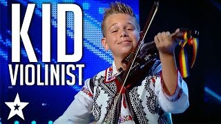 Young Musician Storms The Stage on Românii au Talent   Got Talent Global