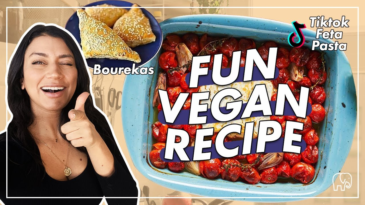 TikTok Viral Feta Pasta (Veganized) & Consumerism Rant lol