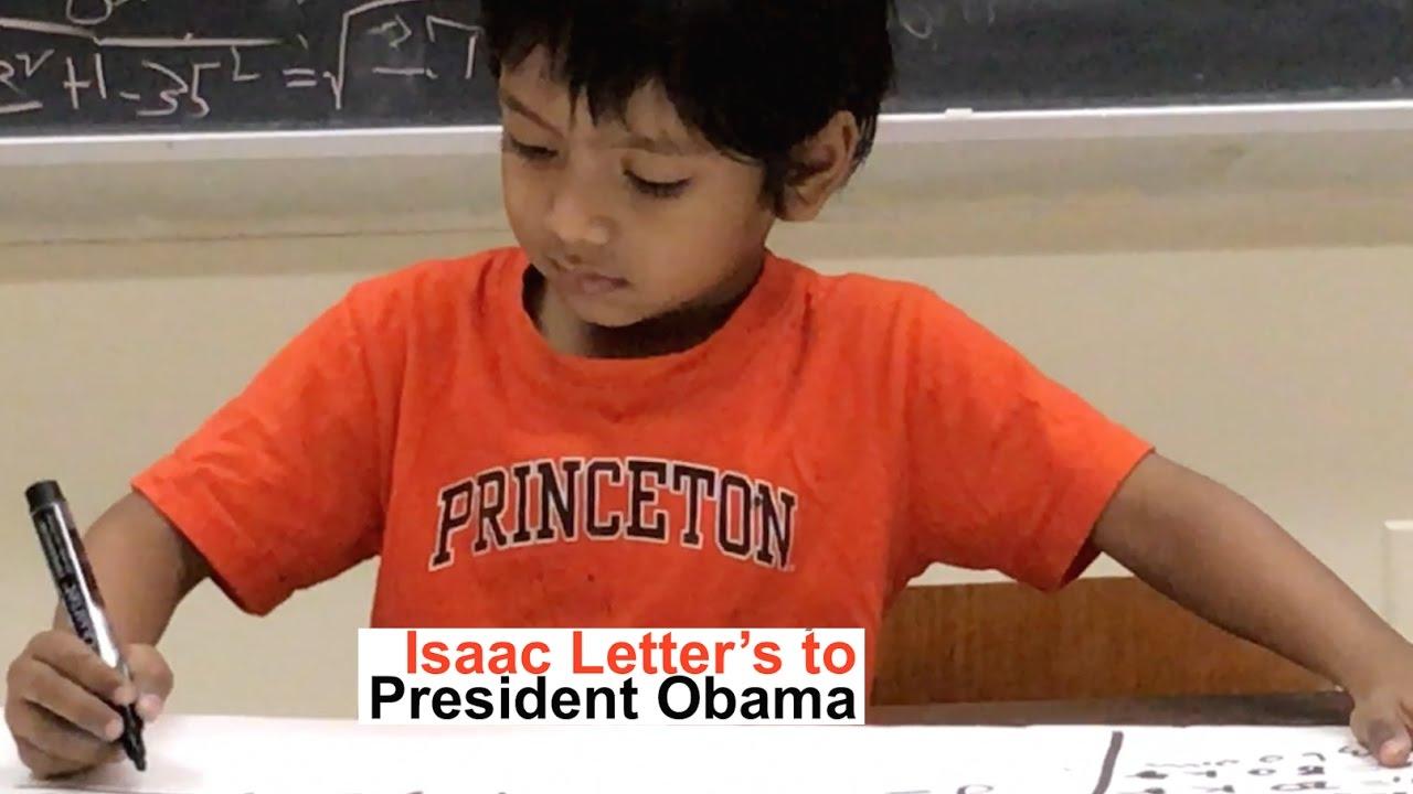 Soborno Isaac's Letter to President Obama