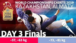 World Judo Championship Cadets 2019: Day 3 Finals