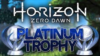 Horizon Zero Dawn Platinum Trophy (All Skills Learned)
