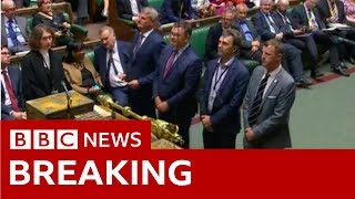 Boris Johnson's call for general election rejected by MPs - BBC News