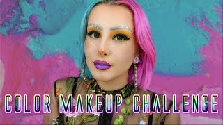 Color Makeup Challenge | STOP AU «RIDICULE» ET AUX MOQUERIES