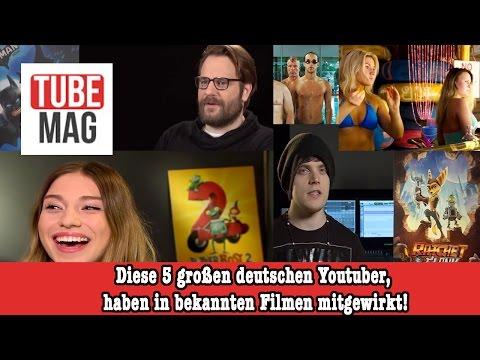 Diese 5 großen deutschen Youtuber, haben in bekannten Filmen mitgewirkt!