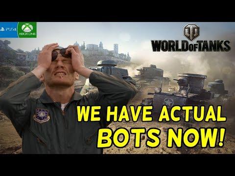 BOTS!!! || World Of Tanks: Mercenaries