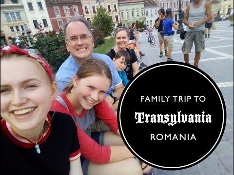 Family Trip to Transylvania, Romania