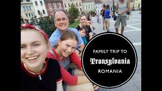 Family Trip to Transylvania, Romania