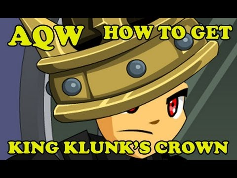 AQW - How to get King Klunk's Crown