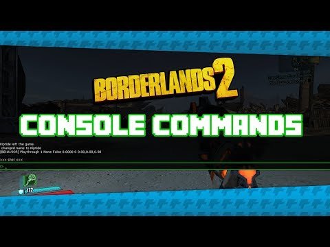 How To Enable/Use Console Commands in Borderlands 2 (Stat FPS, ToggleHUD, Screenshot)