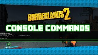 How To Enable Use Console Commands in Borderlands 2 Stat FPS, ToggleHUD, Screenshot