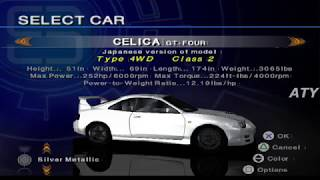 PCSX2 Driving Emotion Type-S Urban Highway Beginner - Toyota Celica GT-Four GAMEPLAY!