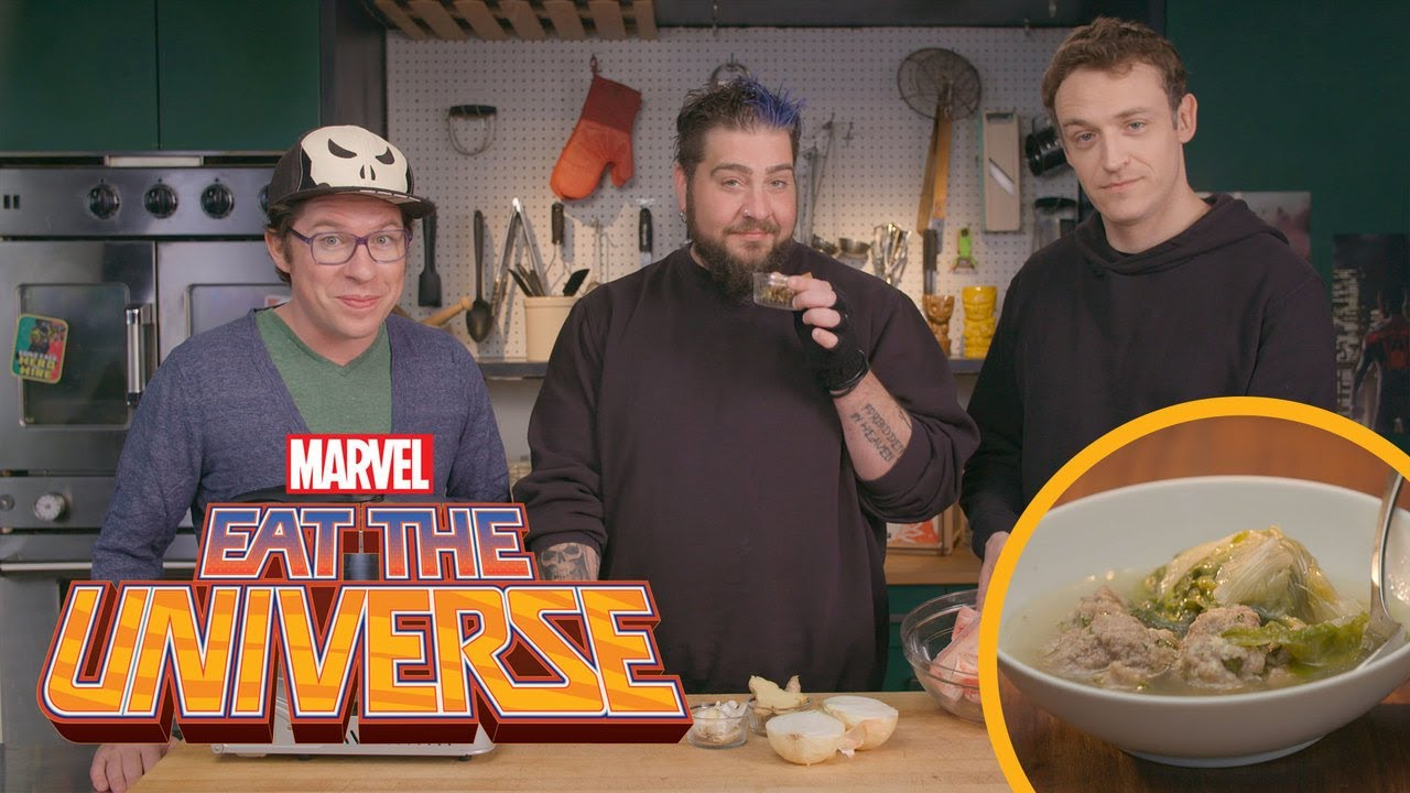 Eat the Universe: Episode 6 - The Punisher's Italian Wedding Soup (ft. Jay Oakerson and Dan Soder)