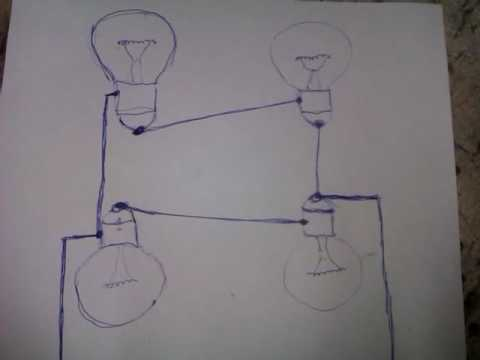 Схема подключения лампочек в самодельном инкубаторе