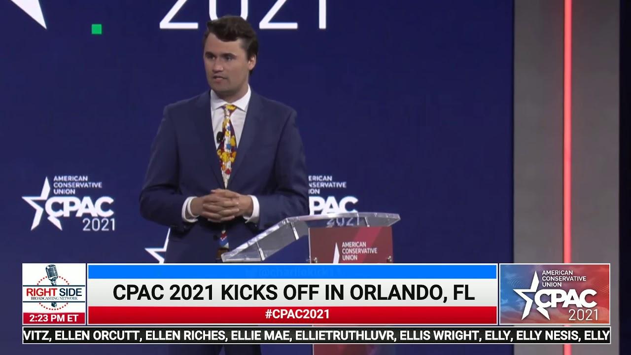 Charlie Kirk Full Speech at CPAC 2021