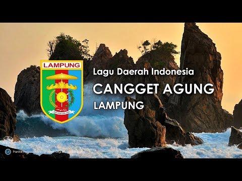 Cangget Agung - Lagu Daerah Lampung (Karaoke, Lirik dan Terjemahan)