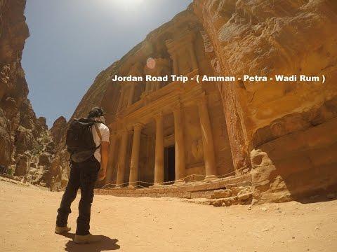 Jordan Road Trip  Solo ( DeadSea - Petra - Wadi Rum ) in 2 Days
