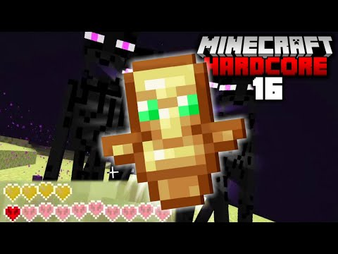I NEARLY DIED in Hardcore Minecraft! (#16)