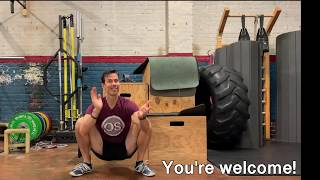 How to Pull Yourself into a Squat