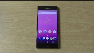 Sony Xperia Z3 Android 7.0 Nougat - Review!