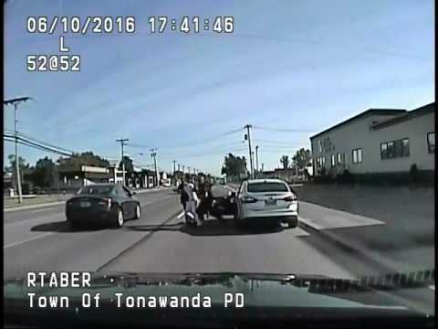 2016 Police Dash Cam Traffic Stop Arrest
