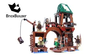 Lego The Hobbit 79016 Attack On Lake-town - Lego Speed Build