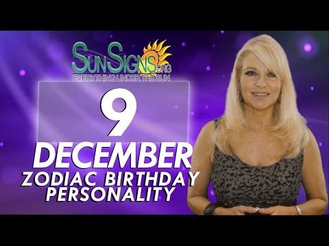 Facts & Trivia - Zodiac Sign Sagittarius December 9th Birthday Horoscope