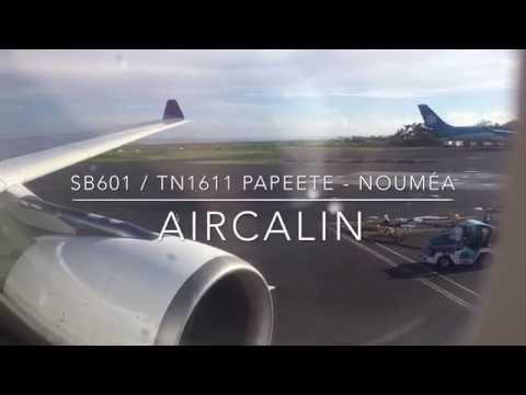 Décollage Tahiti Faa'a Aircalin A330-200
