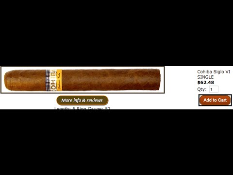 How much do Cuban Cigars cost in Cuba?