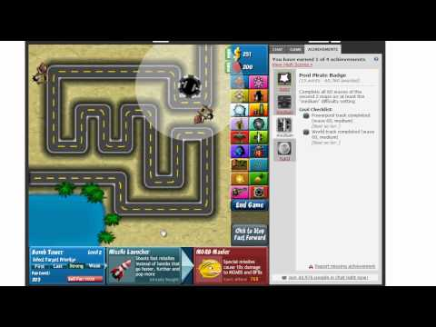 Lets Play: Bloons Tower Defense 4 ep:1
