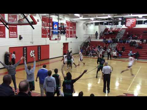 Lake Norman Charter freshman Donovan Atwell scores 34 points on 10 3's