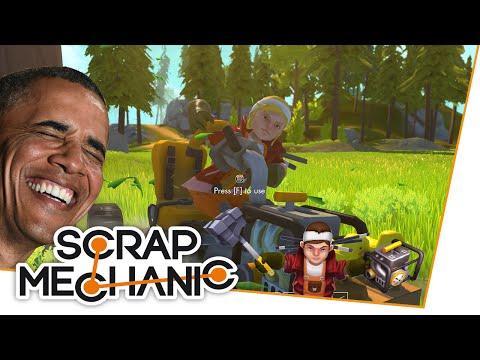 MEGA LACHFLASH! - Scrap Mechanic mit Niko & Christian