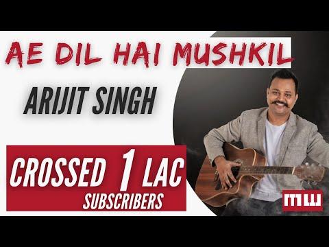 Ae Dil Hai Mushkil | Guitar Lesson
