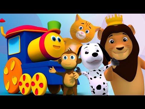 Bob der Zug   Wenn du glücklich bist   Glückliches Lied   Aktion Reime für Kinder   If You Are Happy