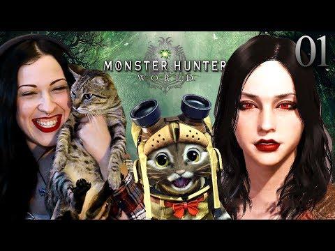 Monster Hunter World Walkthrough Part 1 - I Love My Palico