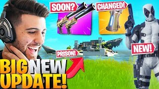 EVERYTHING Epic DIDN'T Tell You In The *BIG* NEW Update! (Fortnite Battle Royale)