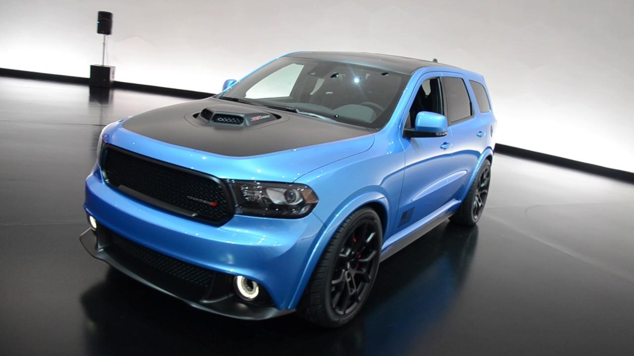 2018 Dodge Durango >> The Dodge Durango 392 Shaker Concept - YouTube