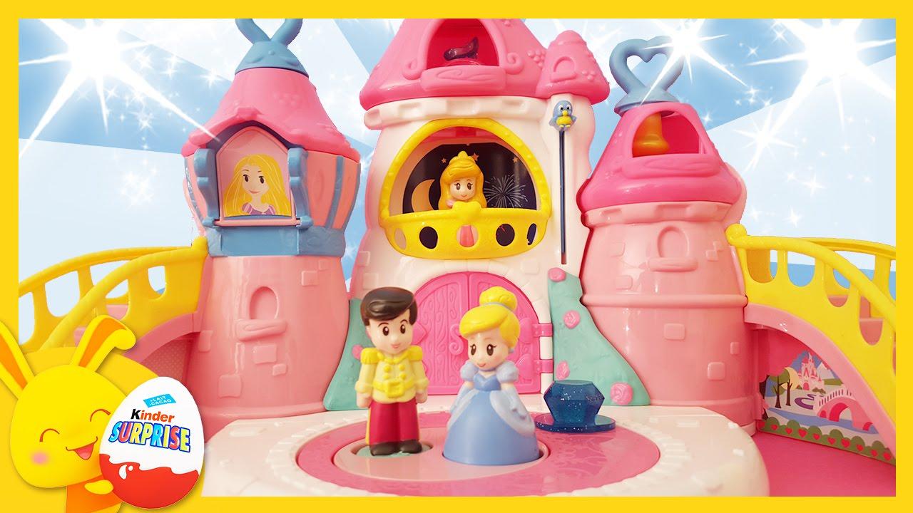 Princesse disney le chateau de cendrillon raiponce et - Raiponce et son prince ...