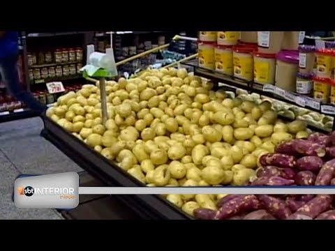 O abastecimento de alimentos está voltando ao normal na região