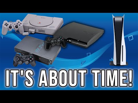 Sony May FINALLY Be Bringing PS3,PS2, And PS1 Backwards Compatibility To The PS5
