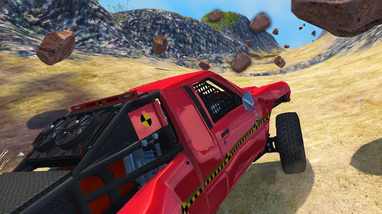 I Drove Into an Avalanche, and This Happened - BeamNG Drive