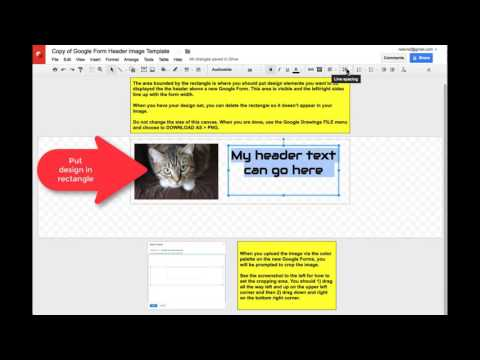 Image Template for Google Forms Header