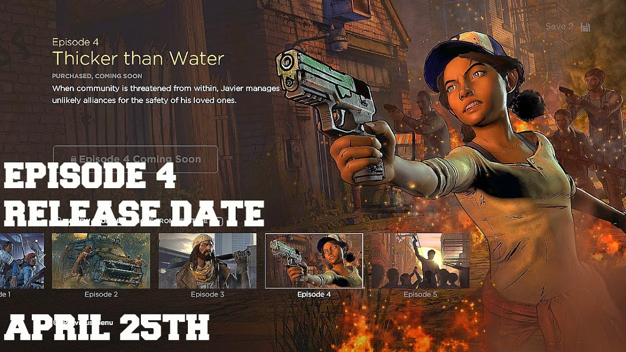 The walking dead season 3 episode 4 thicker than water for H2o episodes season 4