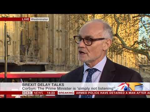 Crispin Blunt MP on BBC News