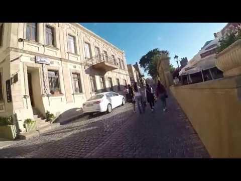 Гуляю по Баку. Старый город, Приморский бульвар
