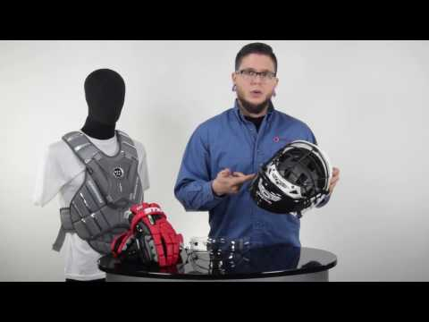 Men's Lacrosse Goalie Protective Category Overview @SportStop Com