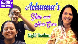 Achuma's Skin and Hair Care - Night Routine | Wellness Vlog #2 | Wow Life